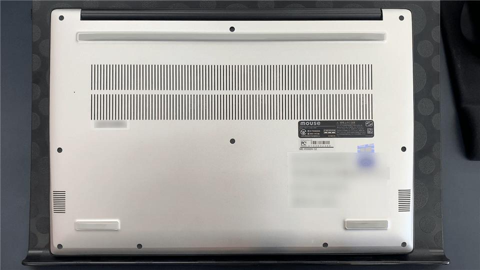 m-Book R500BN-S2の背面