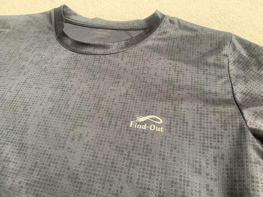 冷感リフレクティブプリント半袖Tシャツ