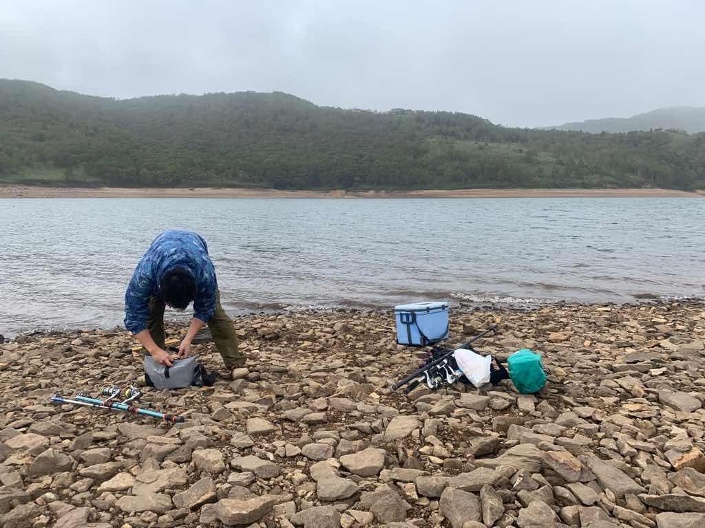 野反湖のオススメの釣り場