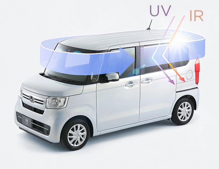 N-BOX 紫外線&赤外線カット