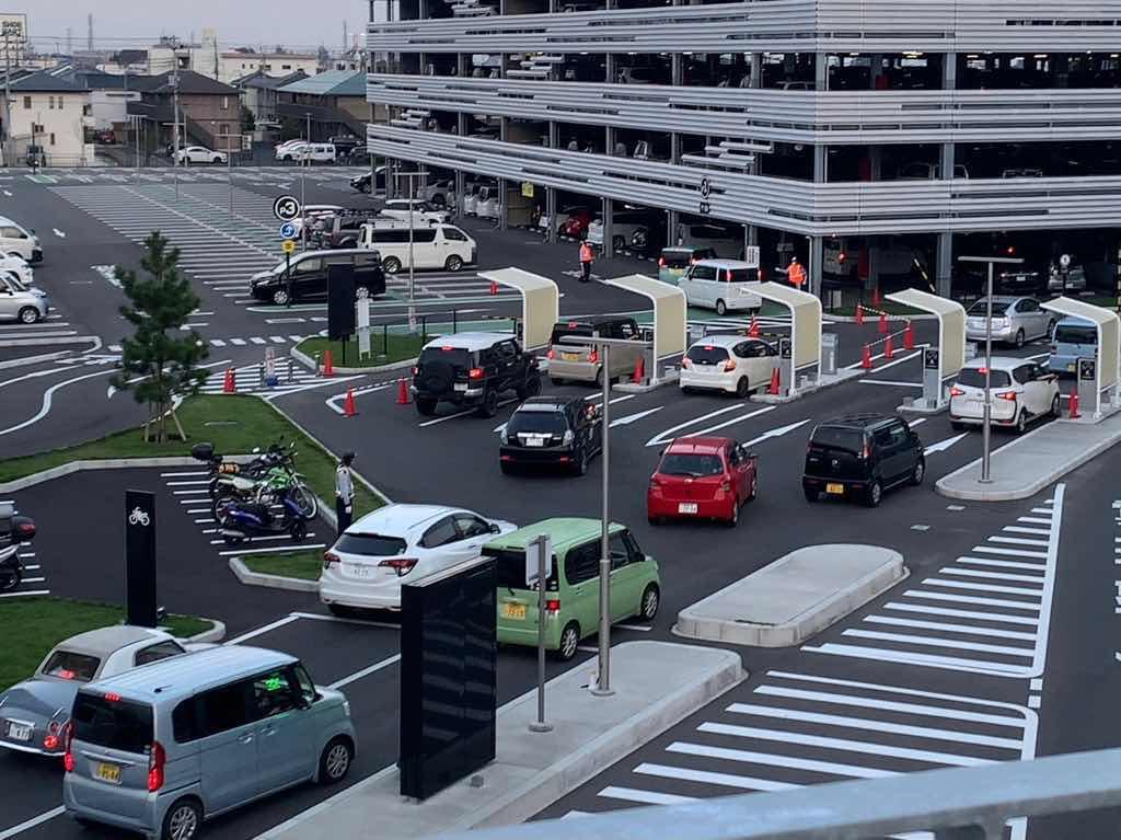 Gメッセ コロナ渋滞 ワクチン渋滞 駐車場 混雑